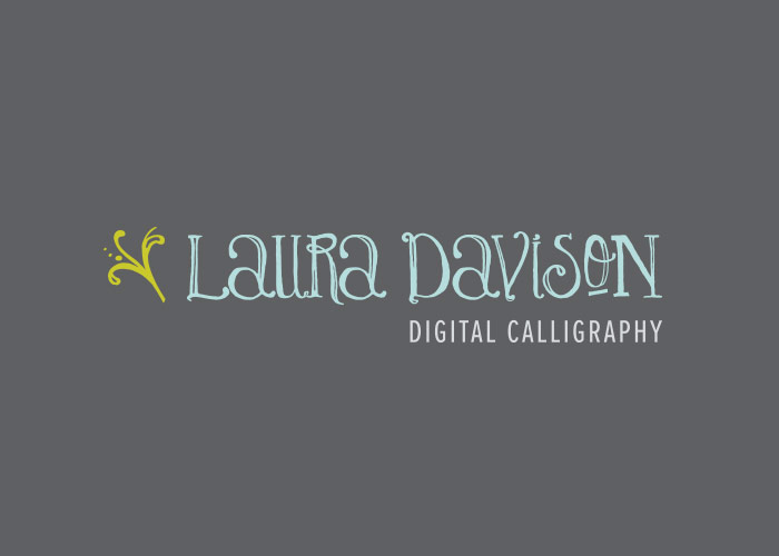 Laura Davison Digital Calligraphy