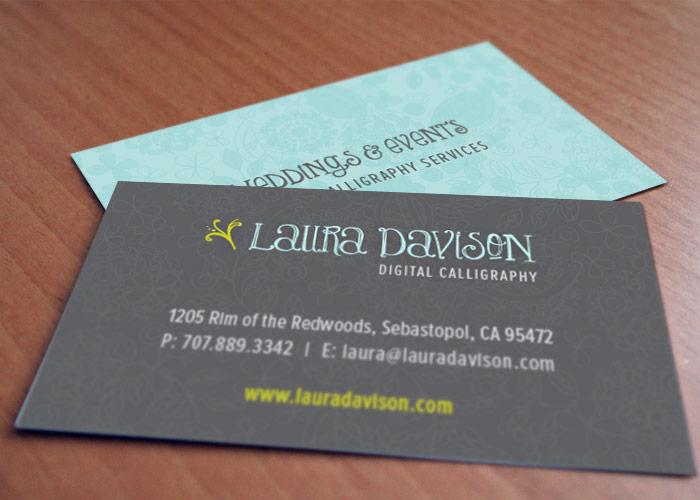 Laura Davison Digital Calligraphy